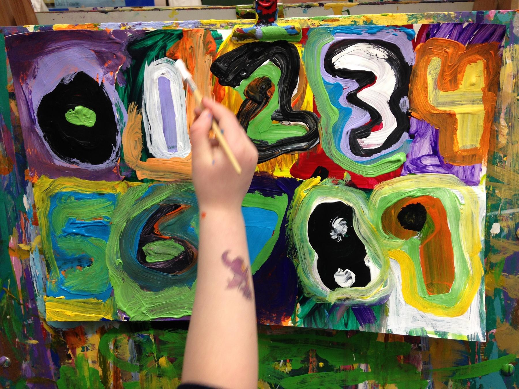 Jasper Johns at IAA   Integrated Arts Academy